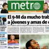 Metro uno dei più diffusi free press a livello europeo, distribuito anche a Madrid