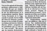 El Pais, L'Italia da per concluso l'incidente con il ministro spagnolo De la Vega sul trattamento degli immigranti in Italia