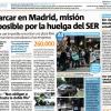 Parcheggio gratuito a Madrid, prosegue lo sciopero degli addetti al controllo