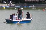 In barca a Madrid, una gita al Parco del Retiro