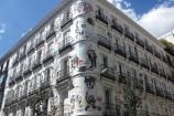 La Metamofosi di Ovidio, dipinta su un palazzo a Madrid
