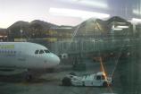 Terminal 4 aeroporto di Madrid Barajas, arrivo dall'Italia