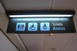 Bagno per neonati all'Aeroporto di Madrid Barajas
