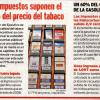 In Spagna il 77% del prezzo delle sigarette sono tasse