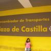 Intercambiador Plaza Castilla Madrid – Metro e Autobus