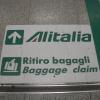 Ritiro bagagli all'Aeroporto di Roma Fiumicino, Alitalia o ADR?