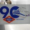 La Metropolitana di Madrid compie 90 anni