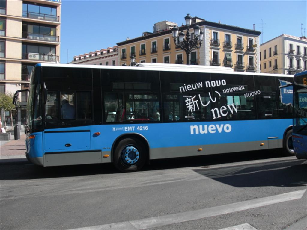Préférence Bus e pullman | Guida di Madrid EY48