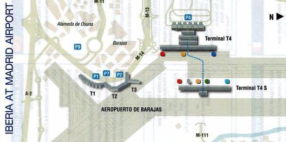 Aeroporto Madrid Barajas T4 T4S