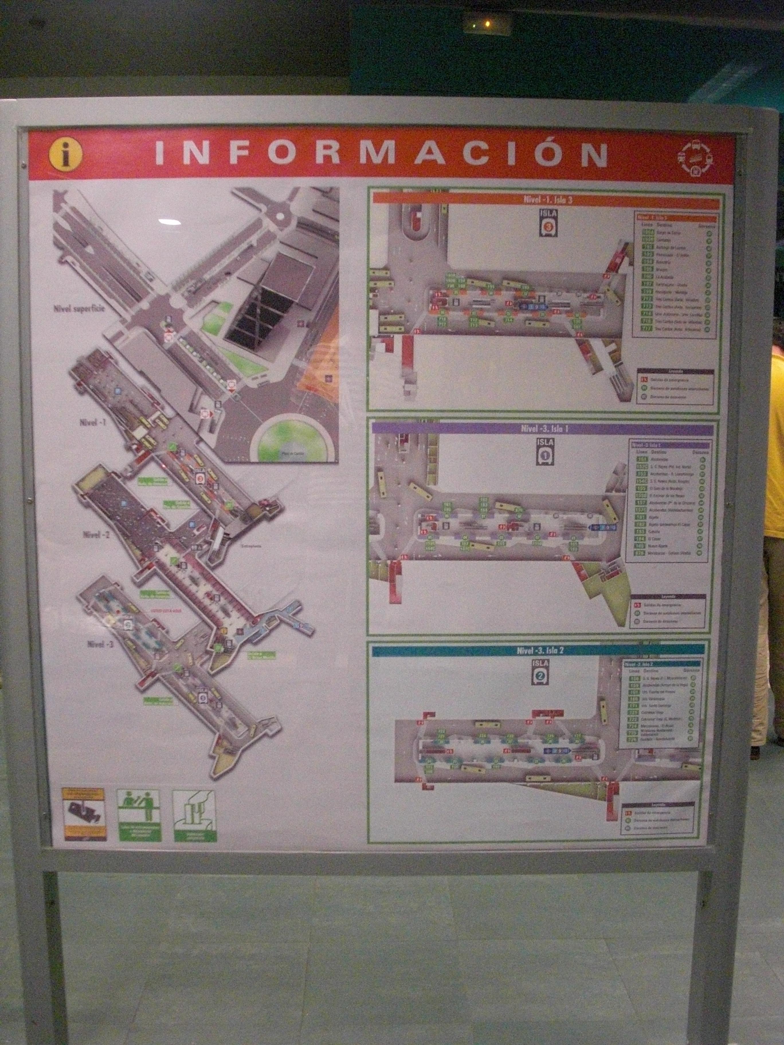 Mappa Intercambiador plaza Castilla