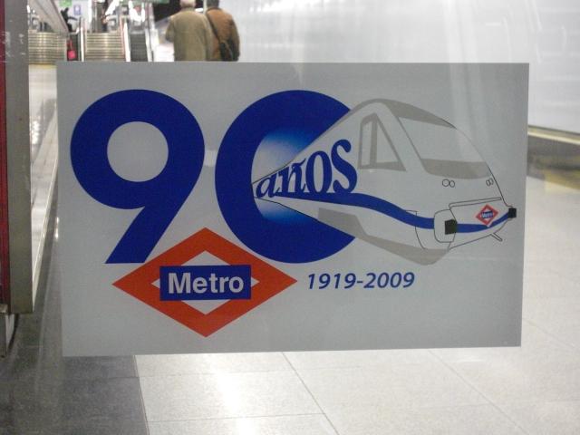 90 anni della Metro di Madrid