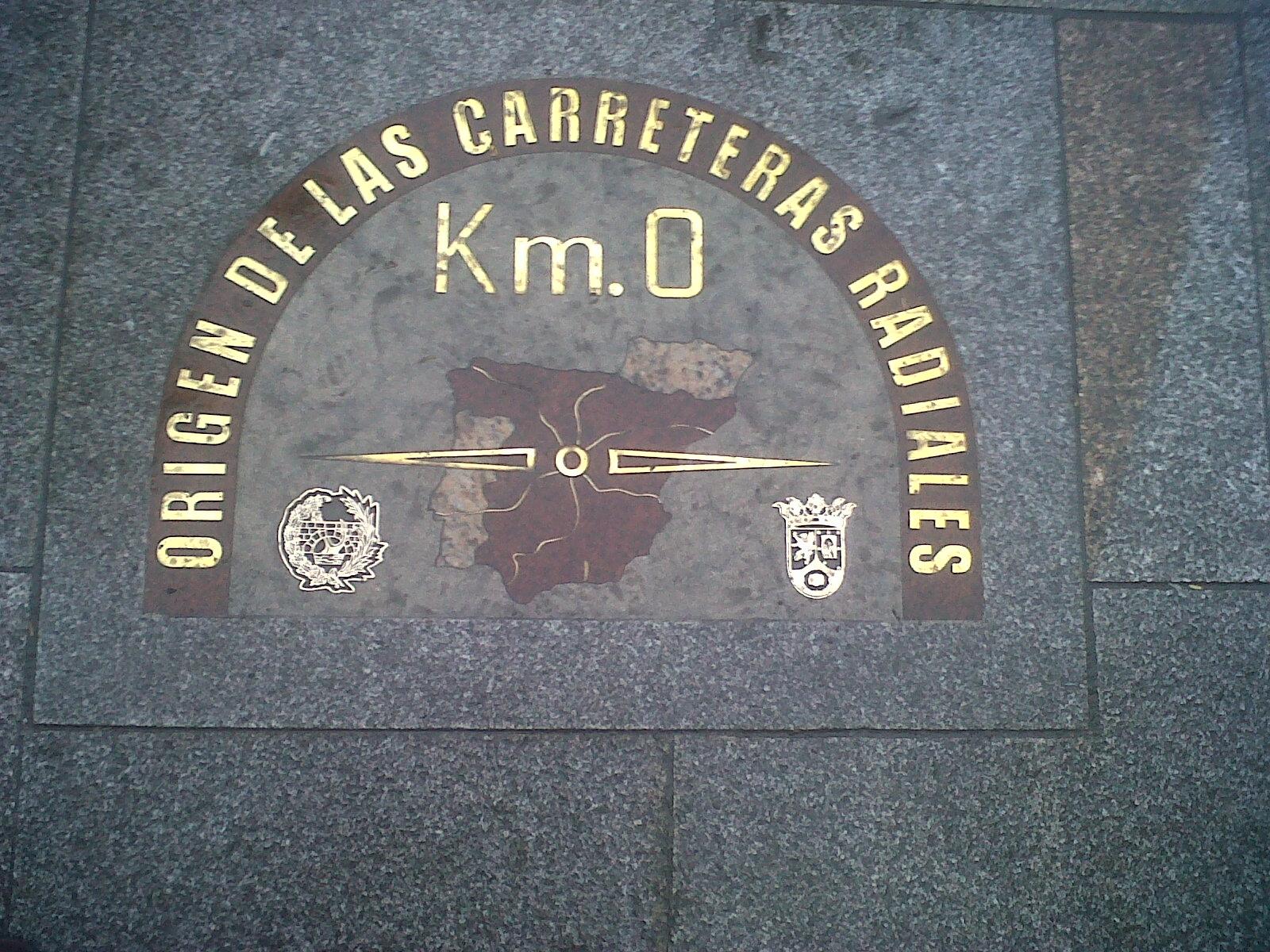 Km 0 for Kilometro 0 puerta del sol