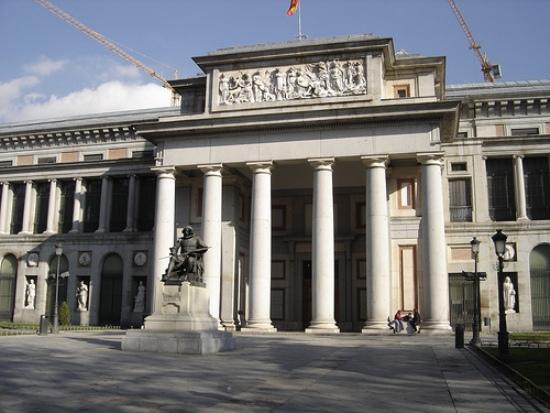 Facciata principale del museo