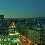 Veduta di Madrid