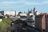Teleferica di Madrid, una vista aerea e inusuale della citta'