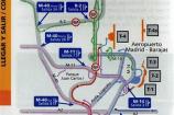 Mappa dell'aeroporto di Madrid Barajas di Iberia – Terminal 4 e satellite